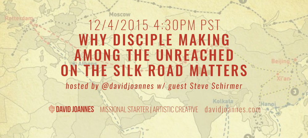 Why Disciple Making Among The Unreached On The Silk Road Matters