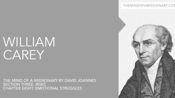 The Mind of a Missionary: William Carey