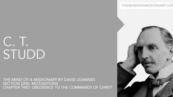 The Mind of a Missionary: C. T. Studd