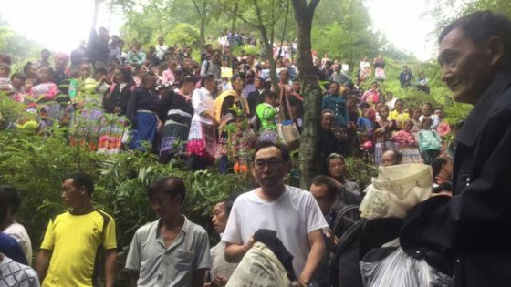 Hundreds Attend Massive Public Baptism In Hidden Forested Landscape