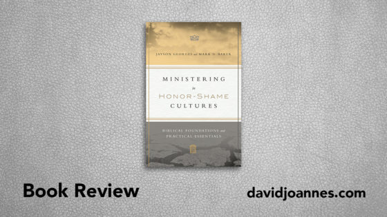 Ministering in Honor-Shame Cultures book review